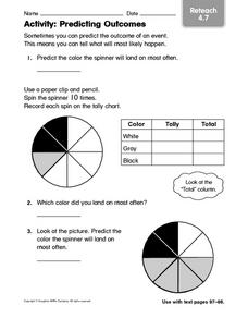 Activity: Predicting Outcomes Worksheet