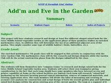 Add'm and Eve in the Garden Lesson Plan