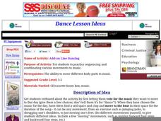 Add-on Line Dancing Lesson Plan