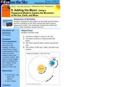 Adding the Moon:  Using a Playground Model to Explore the Movement of the Sun, Earth, and Moon Lesson Plan