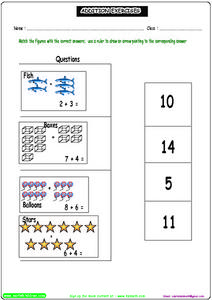 Addition Exercises 6 Worksheet