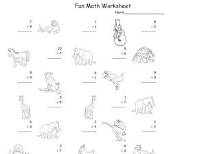 Addition Facts Practice Worksheet