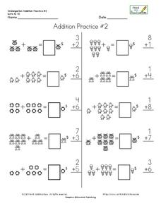 Addition Practice 2 Worksheet