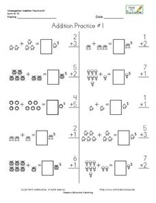 Addition Practice #4 Worksheet