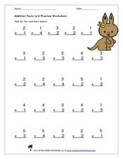Addition Problems Worksheet
