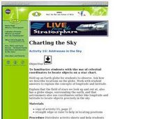 Addresses in the Sky Lesson Plan