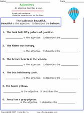 Adjectives 2 Worksheet