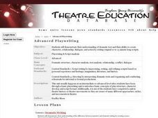 Advanced Playwriting Lesson Plan
