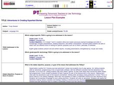 Adventures in Creating Hypertext Stories Lesson Plan