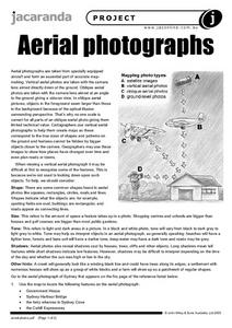 Aerial Photographs Worksheet