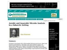 Aerobic and Anaerobic Microbe Analysis in a Subarctic Setting Lesson Plan