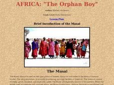 "AFRICA: ""The Orphan Boy"" Lesson Plan"