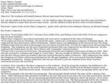 African American Heritage in Arkansas Lesson Plan