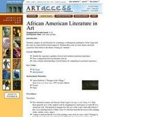 African American Literature in Art Lesson Plan