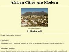 African Cities Are Modern Lesson Plan