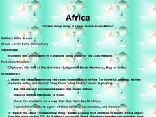 African Dance and Song Lesson Plan