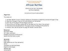 African Rattles Lesson Plan