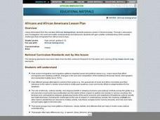 Africans and African Americans Lesson Plan Lesson Plan