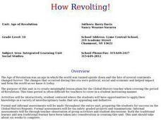 Age of Revolution Lesson Plan