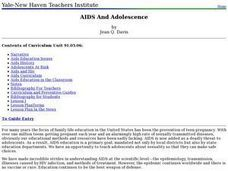 AIDS and Adolescence Lesson Plan