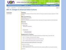 AIH-14: Changes to American Indian Cultures Lesson Plan