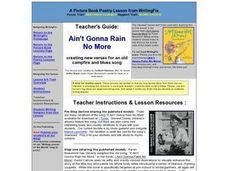 Ain't Gonna Rain No More: Six Traits of Writing Lesson Plan
