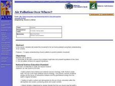 Air Pollution Over Where? Lesson Plan