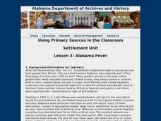 Alabama Fever Lesson Plan