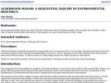 Alderwood Manor:  A Sequential Inquiry in Environmental Bioethics Lesson Plan
