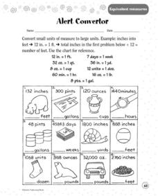 Alert Converter Worksheet