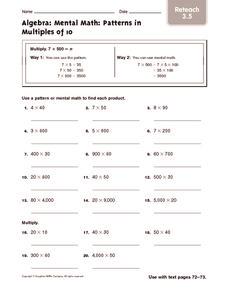 math worksheet : mental math problems 4th grade  educational math activities : Mental Math Practice Worksheets