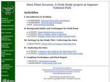 Alien Plant Invasion: A Filed Study project at Saguaro National Park Lesson Plan
