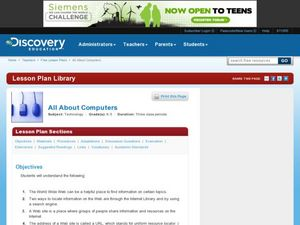 All About Computers Lesson Plan