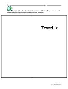 All about Greece Worksheet