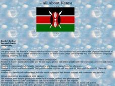 All About Kenya Lesson Plan