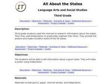 all About the States Lesson Plan