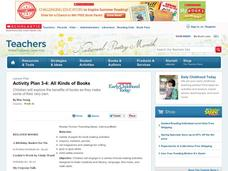 All Kinds of Books Lesson Plan