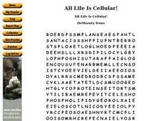 All Life Is Cellular! Worksheet