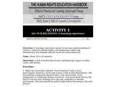 All Our Relations: A Learning Experience Lesson Plan