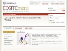 All Together Now: Collaborations in Poetry Writing Lesson Plan