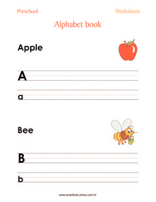 Alphabet Book Worksheet