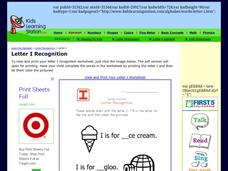 Alphabet Worksheet: Letter Recognition Worksheet
