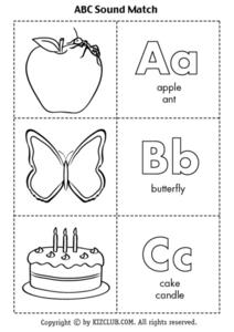 Alphabet Worksheets Lesson Plan