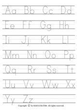 Alphabet Writing Lesson Plan
