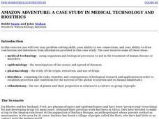 Amazon Adventure:  A Case Study in Medical Technology and Bioethics Lesson Plan