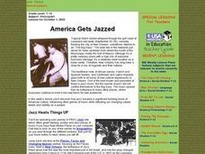 America Gets Jazzed Lesson Plan