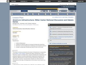 America's Infrastructure: Miller Center National Discussion Debate Series Lesson Plan