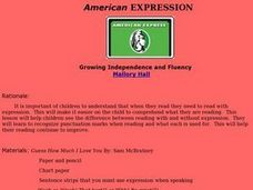 American Expression Lesson Plan