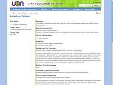 American Federal Lesson Plan