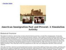 American Immigration Past and Present Lesson Plan